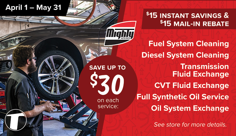 Save up to $30 on Each Service