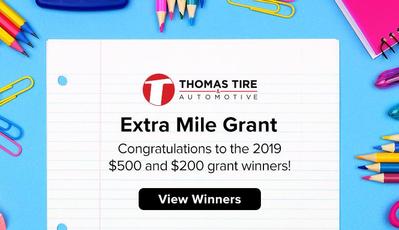 Extra Mile Grant Winners 2019