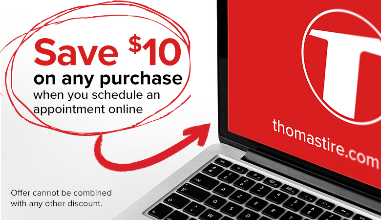 $10 OFF Any Purchase - when you schedule and appointment online